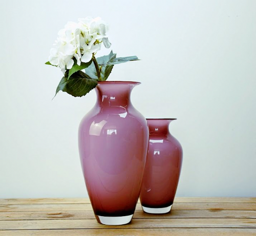Posy Vase Heather 35cm
